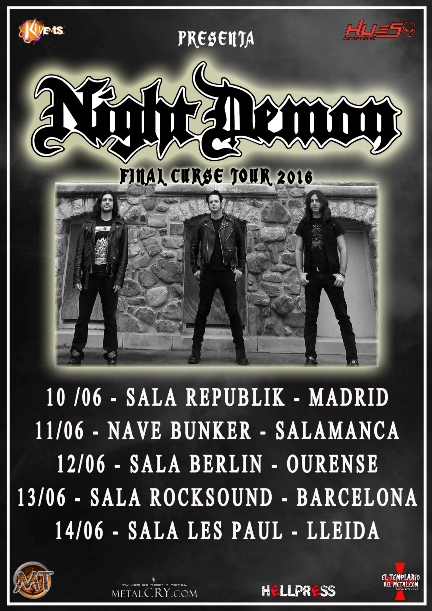 Night Demon fechas web peq
