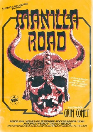Manilla Road Barcelona peq