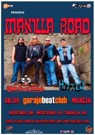 Manilla Road Murcia peq