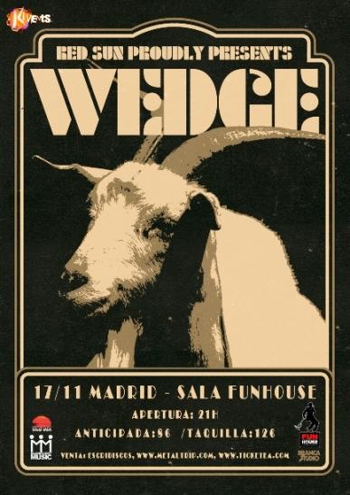 Wedge en Madrid