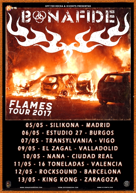 Bonafide - Flames Tour 2017