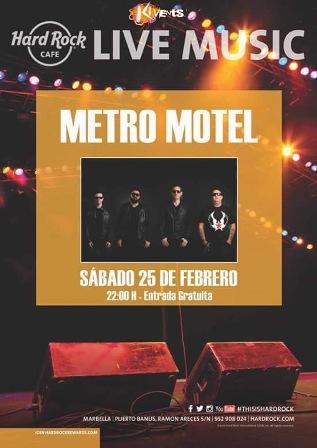 Metro motel pr ximos conciertos for Sala clamores proximos eventos