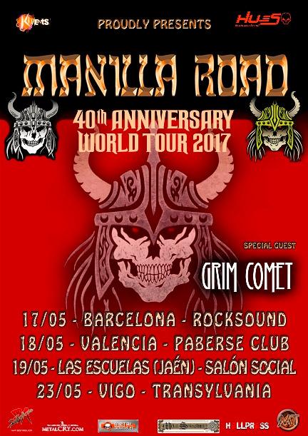 Manilla Road - 40 Anniversary World Tour
