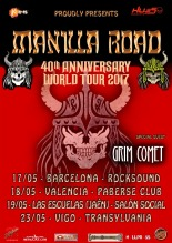 Manilla Road - 40 Anniversary World Tour