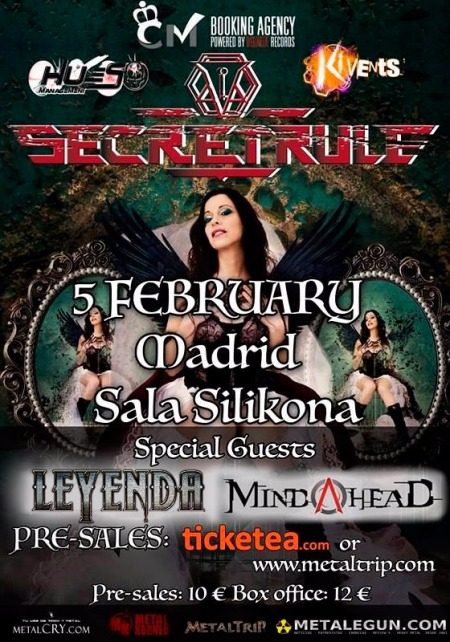 Secret Rule y LEYENDA en Madrid