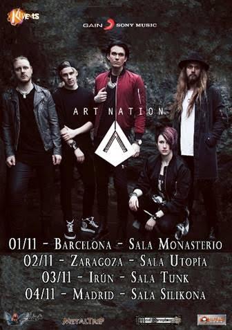 Art Nation Spanish Tour 2017