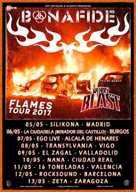Bonafide #FlamesTour2017