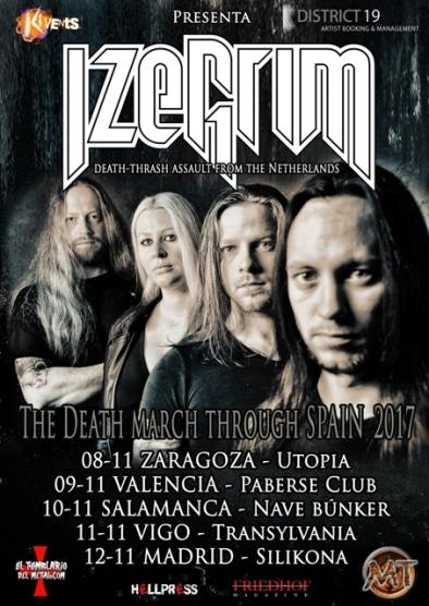 Izegrim - The Death March Through Spain Tour 2017