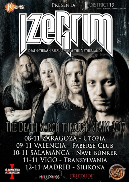 Izegrim - The Death March Through Spain Tour 2017