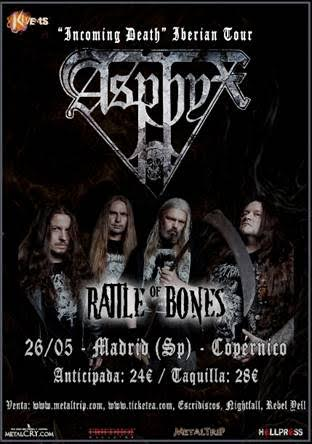 Asphyx en Madrid