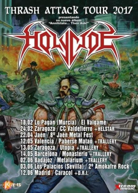 Holycide Tour