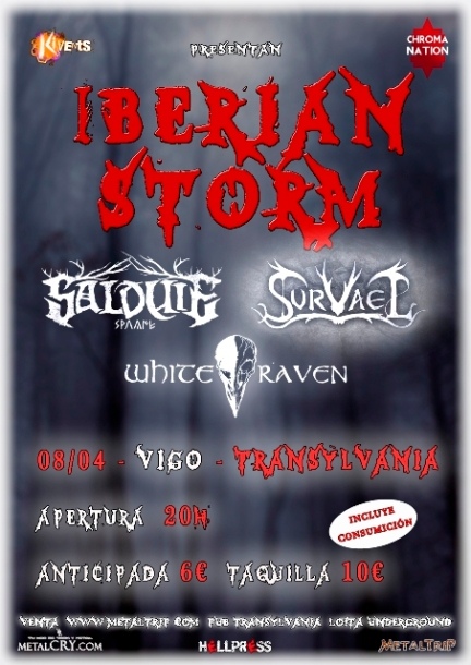 Iberian Storm en Vigo