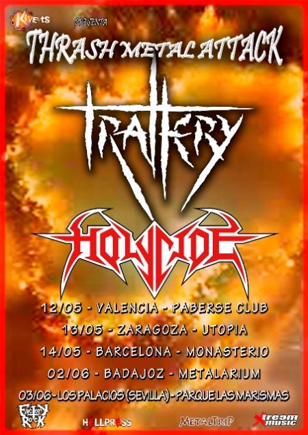 Thrash Metal Attack: Trallery y Holycide