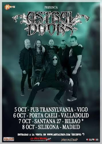 Astral Doors Spanish Tour