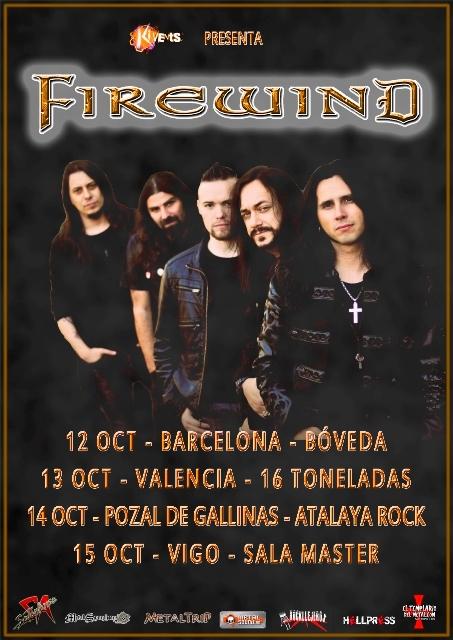 Firewind - Spanish Tour 2017