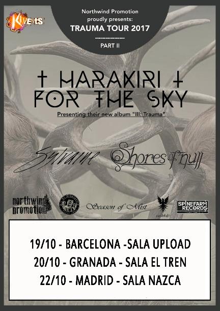 Harakiri For The Sky - Trauma Tour Spain