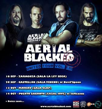 Aerial blacked pr ximos conciertos y proyectos - Casal jove puerto sagunto ...
