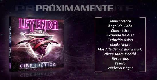 "Leyenda - presenta ""Cibernetica"""