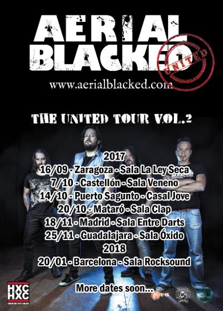 Aerial Blacked conciertos