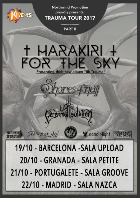 Harakiri For The Sky - Spanish Tour