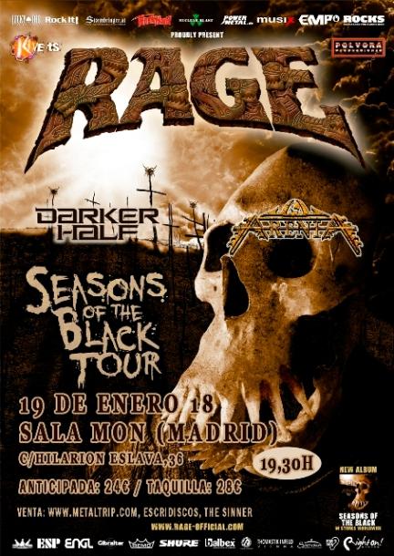 Rage en Sala Mon (Madrid)