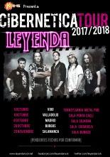 "Leyenda - Fechas ""Cibernetica Tour"""