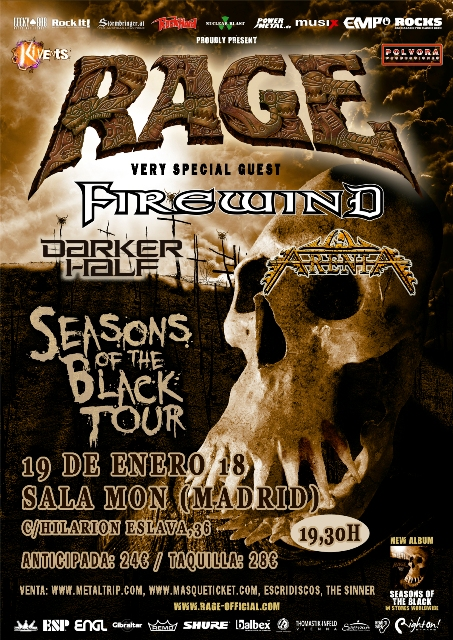 Rage en Madrid