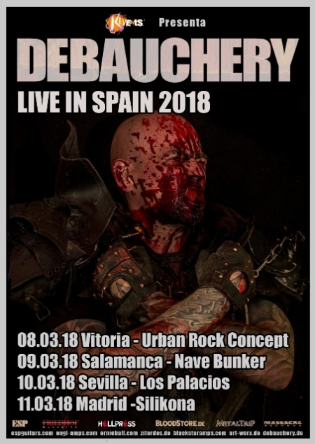 Debauchery - Live In Spain 2018