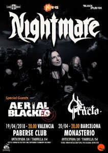 Aerial Blacked con Nightmare en Valencia y Barcelona
