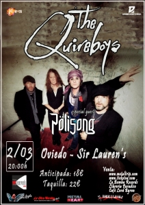 The Quireboys en Oviedo