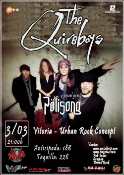 The Quireboys en Vitoria