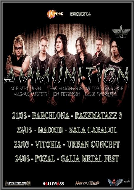Ammunition en España
