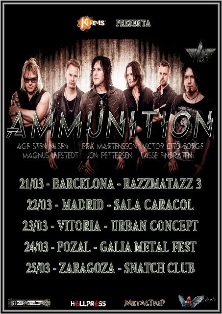 Ammunition Tour