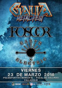 Galia Metal Fest 2018 - Foscor y Earth Electric