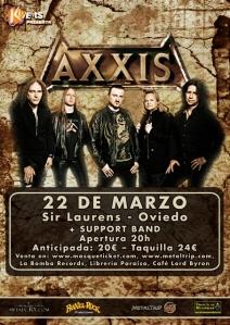 Axxis en Oviedo