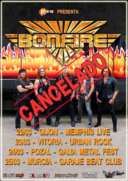 Bonfire cancelado