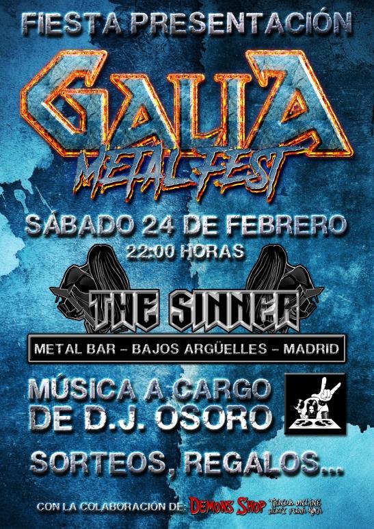 Galia Metal Fest - Fiesta Presentación