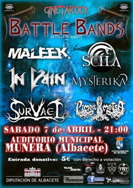 Gineta Rock Batalla de Bandas