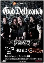 God Dethroned en Madrid The Copernico Cavern