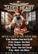 """Jaded Heart - """"Devil's Gift Spanish Tour 2018"""""""