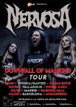 Nervosa - Spanish Tour