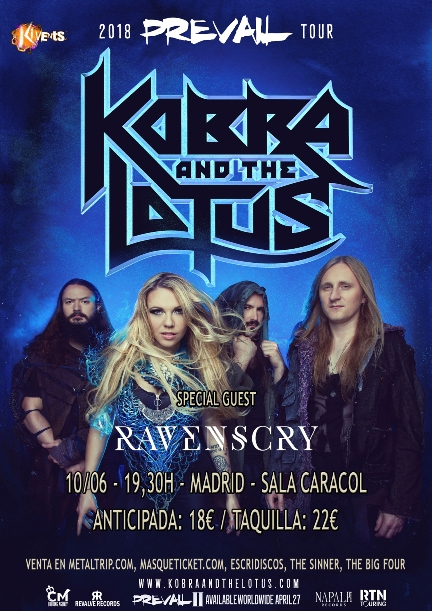 Kobra and The Lotus Madrid web peq