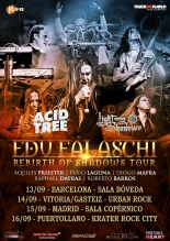 "Edu Falaschi – ""Rebirth of Shadows Tour"" en España"