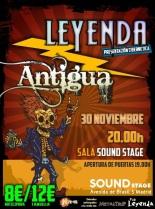 LEYENDA y ANTIGUA en Madrid