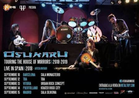 "Osukaru - ""Touring the House of Mirrors"" Tour"
