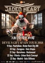 Jaded Heart - Devil's Gift Spain Tour 2018