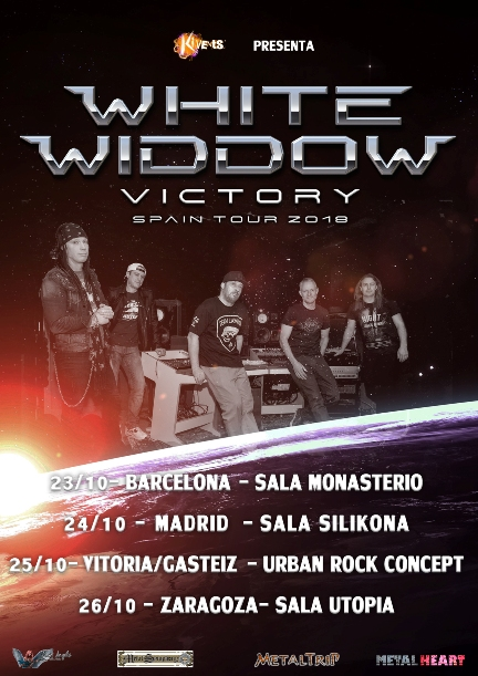 "White Widdow - ""Victory Spain Tour"""