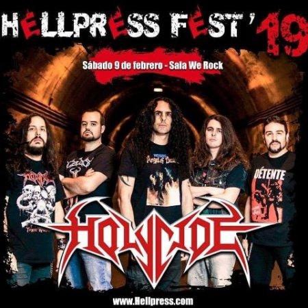 Holycide - Hellpress Fest 2019