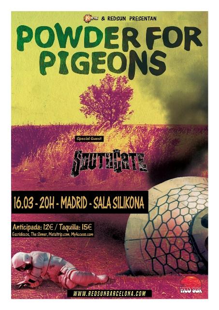 Podwer for Pigeons en Madrid