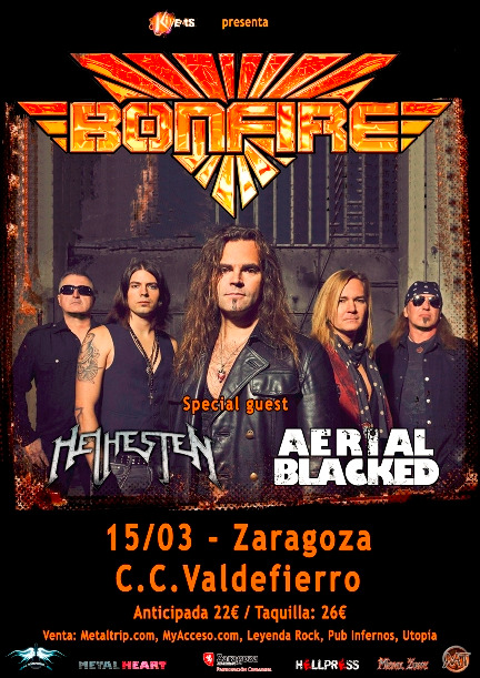 Bonfire en Zaragoza